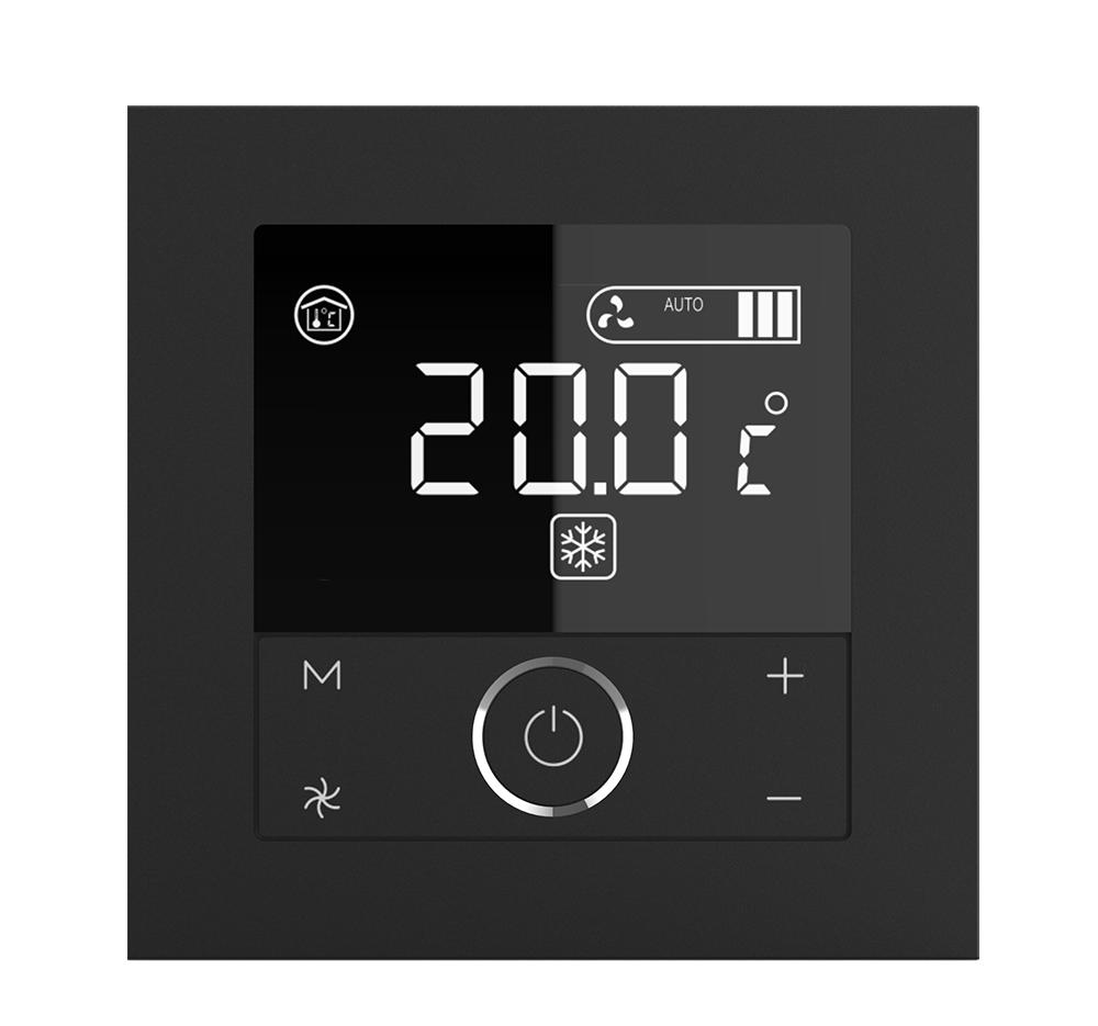 协议温控面板